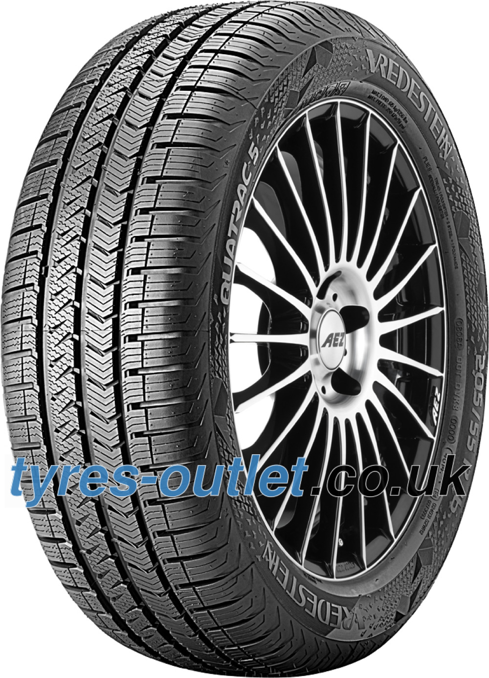 Vredestein Quatrac 5 ( 245/45 R18 100Y XL , with rim protection ridge (FSL) )