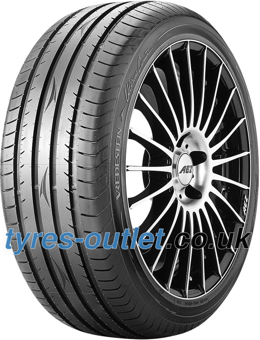 Vredestein Ultrac Cento ( 225/40 ZR18 92Y XL with rim protection ridge (FSL) )