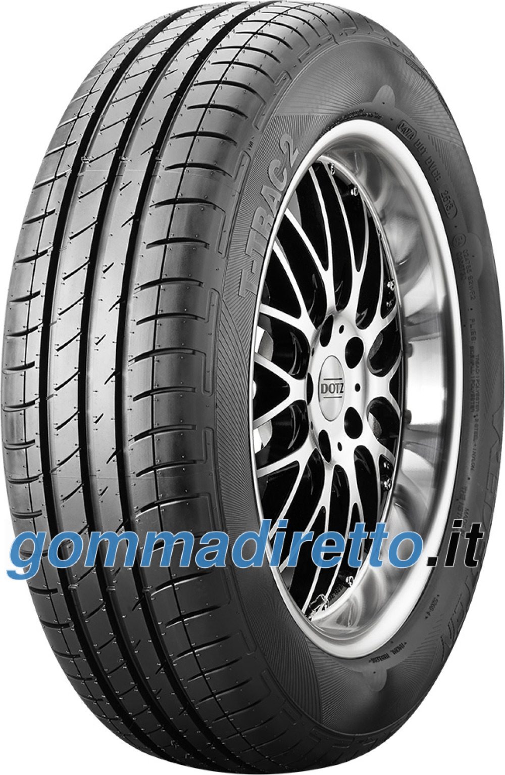 Image of Vredestein T-Trac 2 ( 165/70 R13 79T )