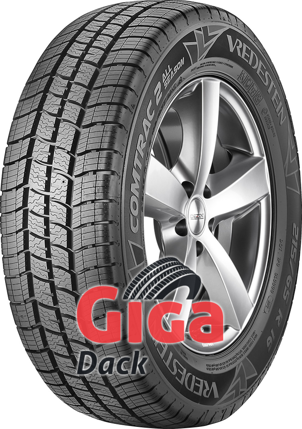 Vredestein Comtrac 2 All Season ( 195/65 R16C 104/102T )