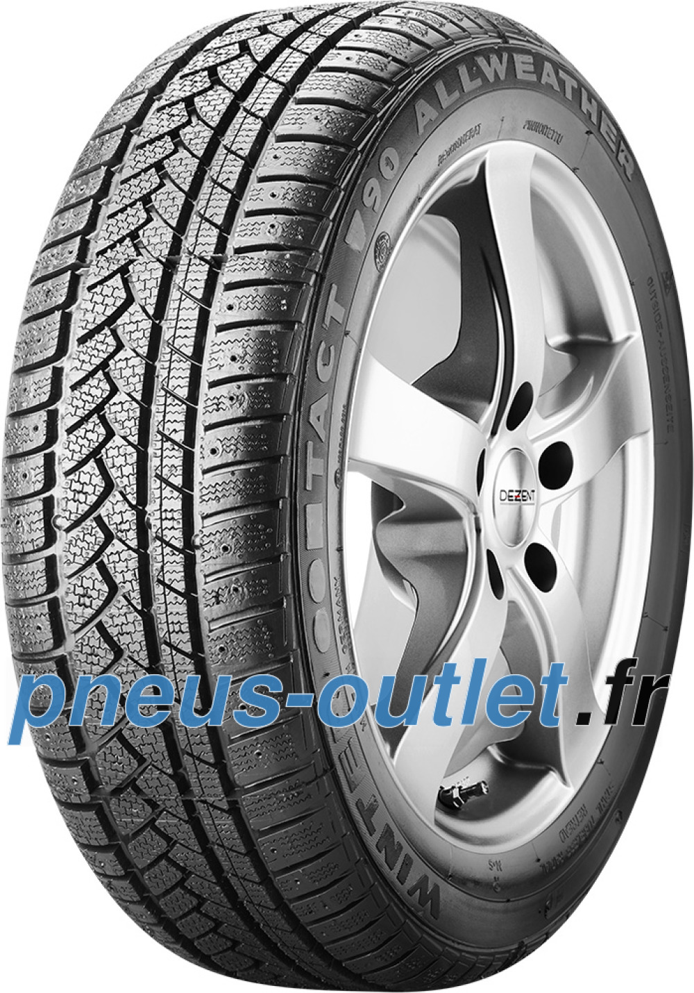Winter Tact WT 90 ( 205/65 R15 99T XL , rechapé )