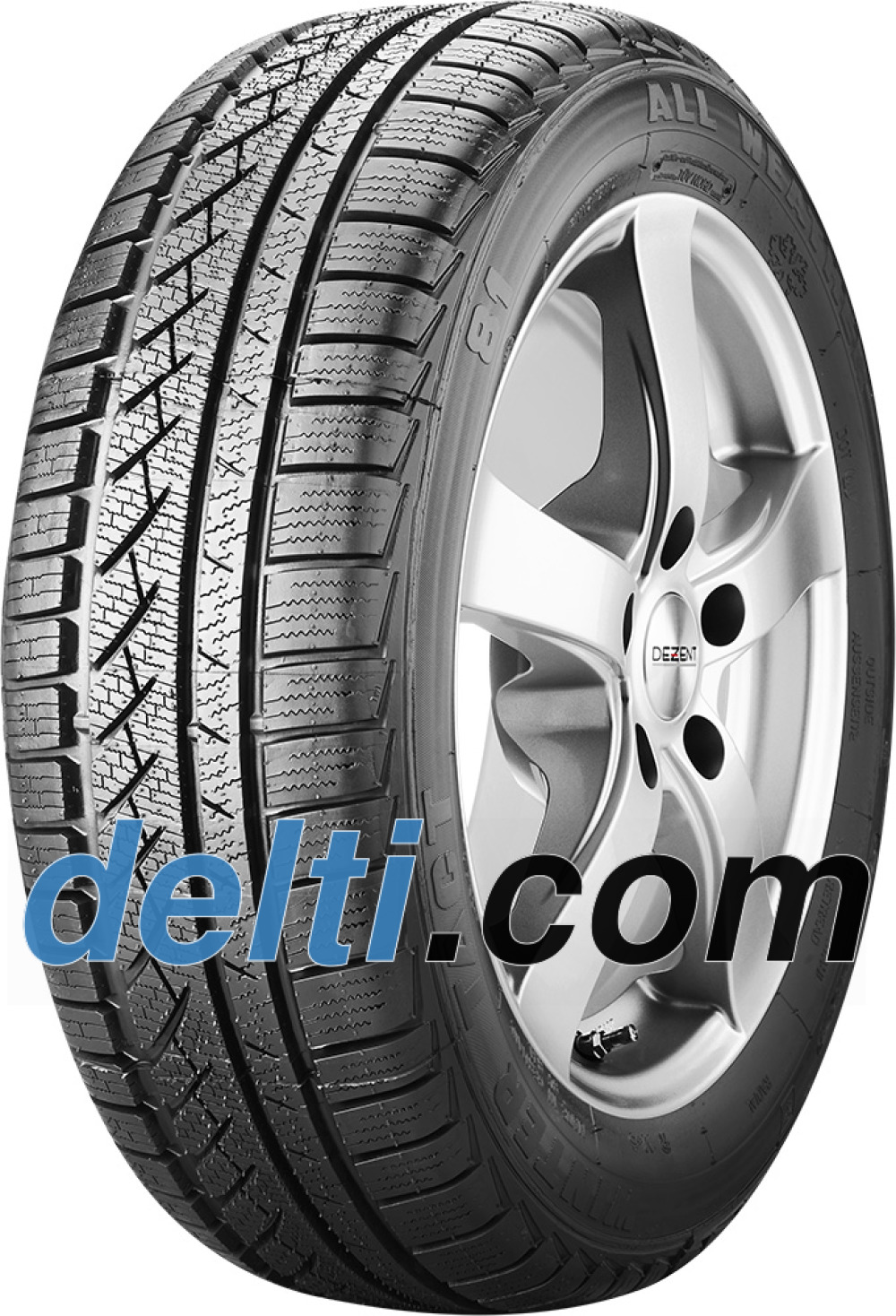 Winter Tact WT 81 ( 185/55 R15 86T XL , totalt fornyet )