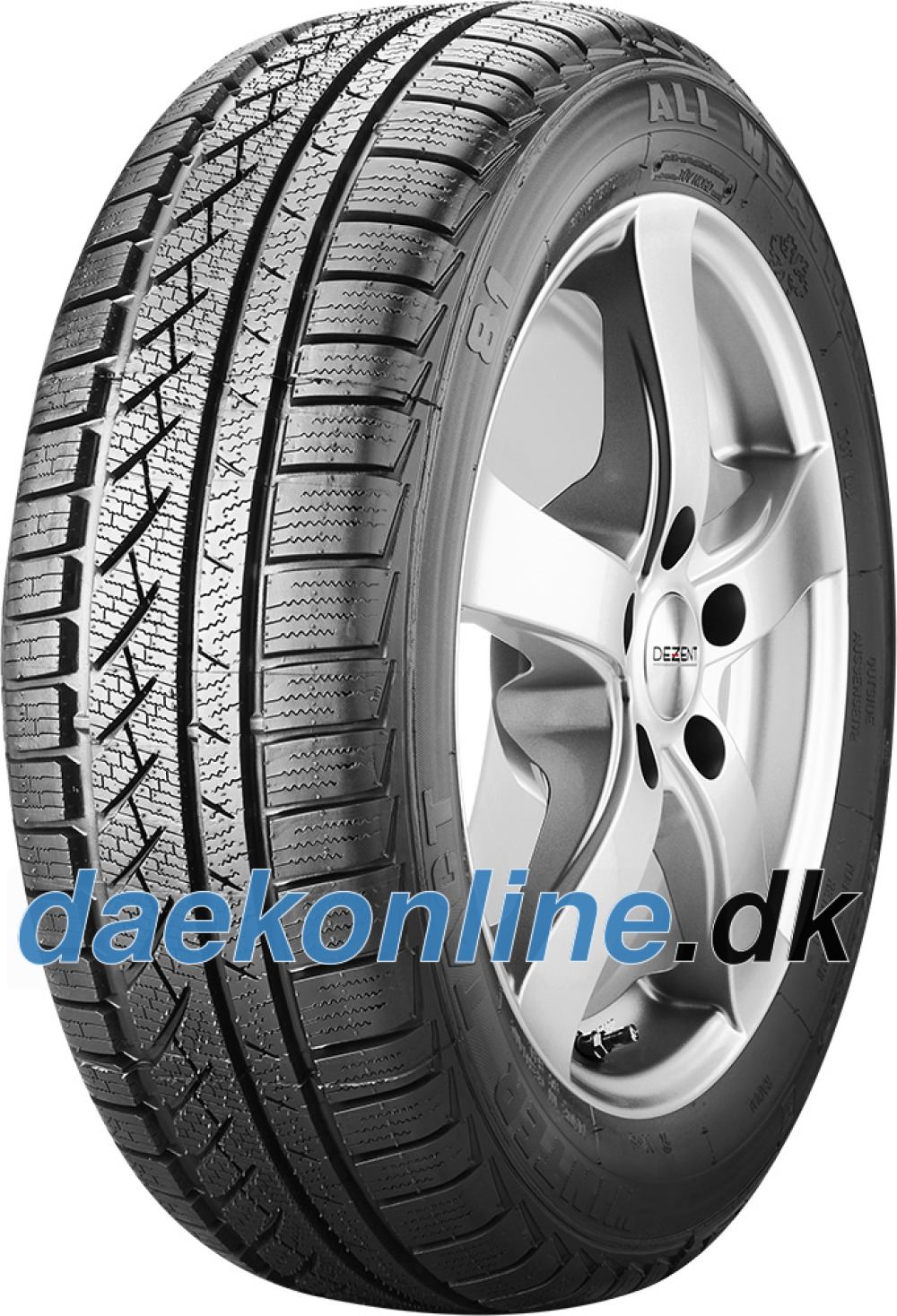 Winter Tact WT 81 ( 175/70 R13 82Q , totalt fornyet )