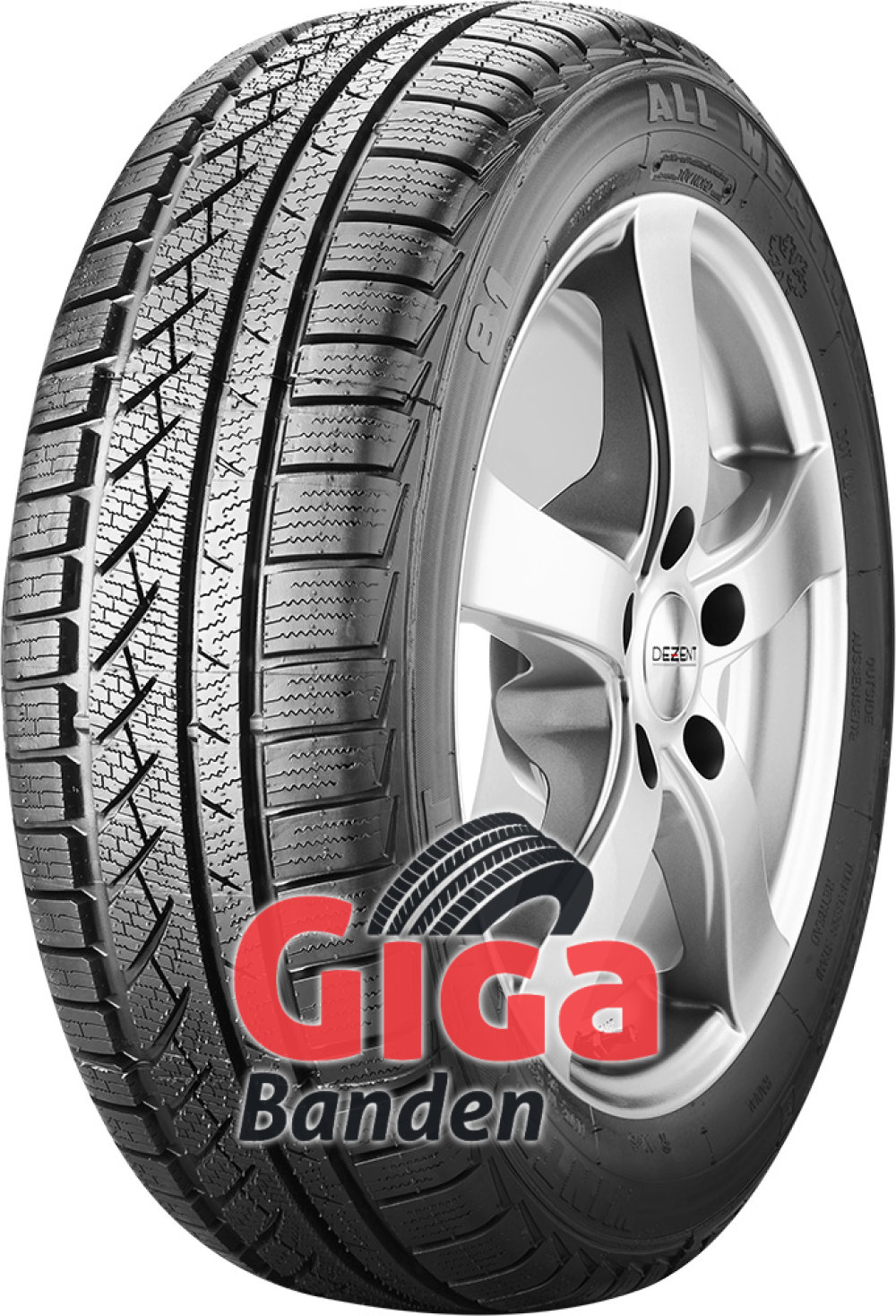 Winter Tact WT 81 ( 185/65 R15 88T , cover )