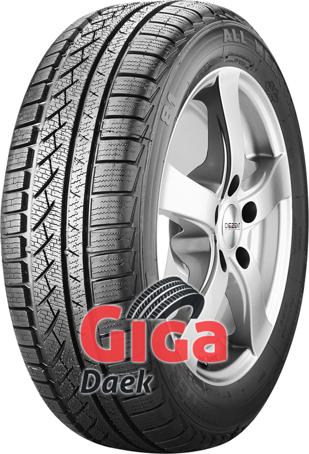 Winter Tact WT 81 ( 205/60 R15 91T , totalt fornyet )