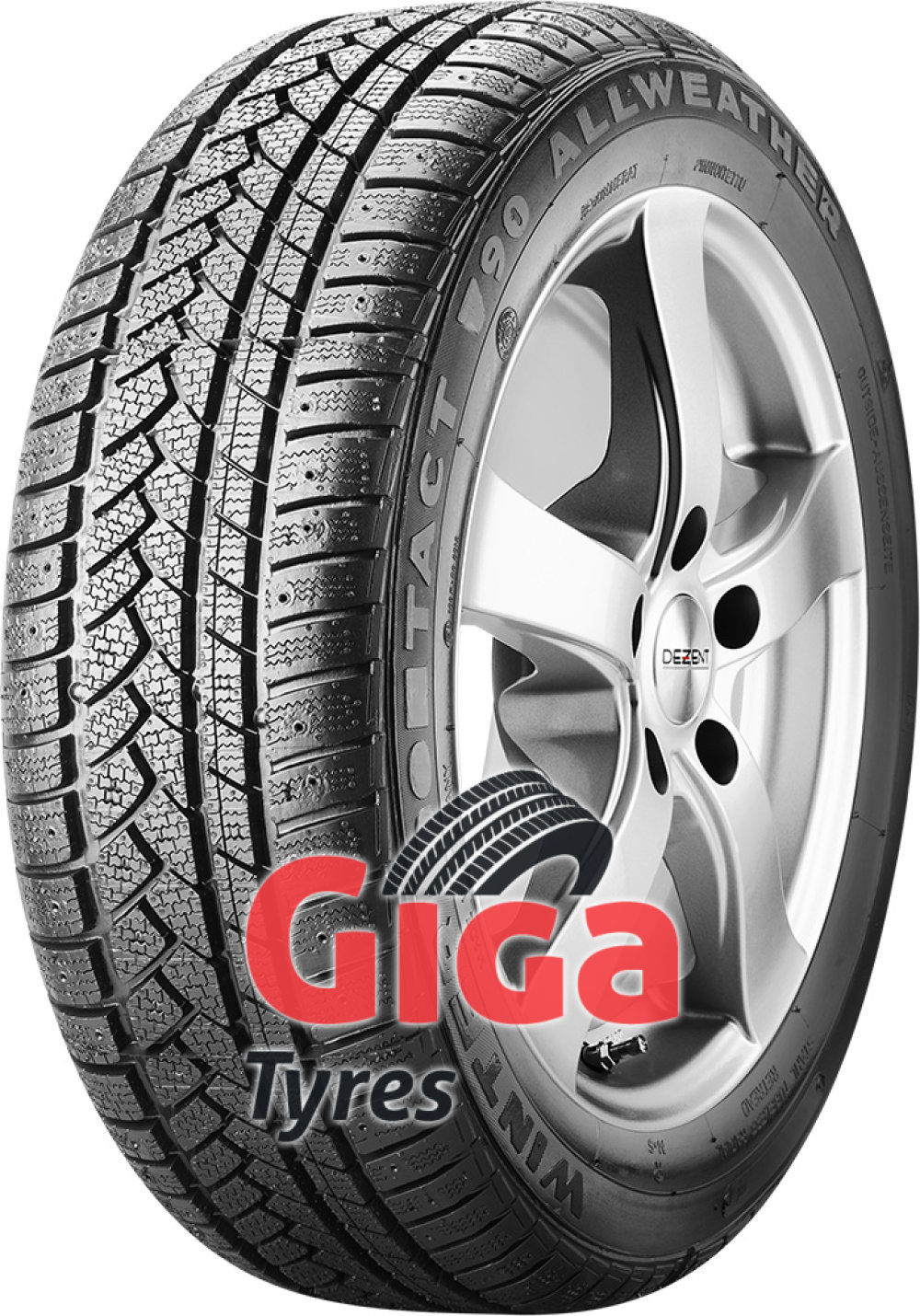 Winter Tact WT 90 ( 195/65 R15 95T XL , remould, studdable )