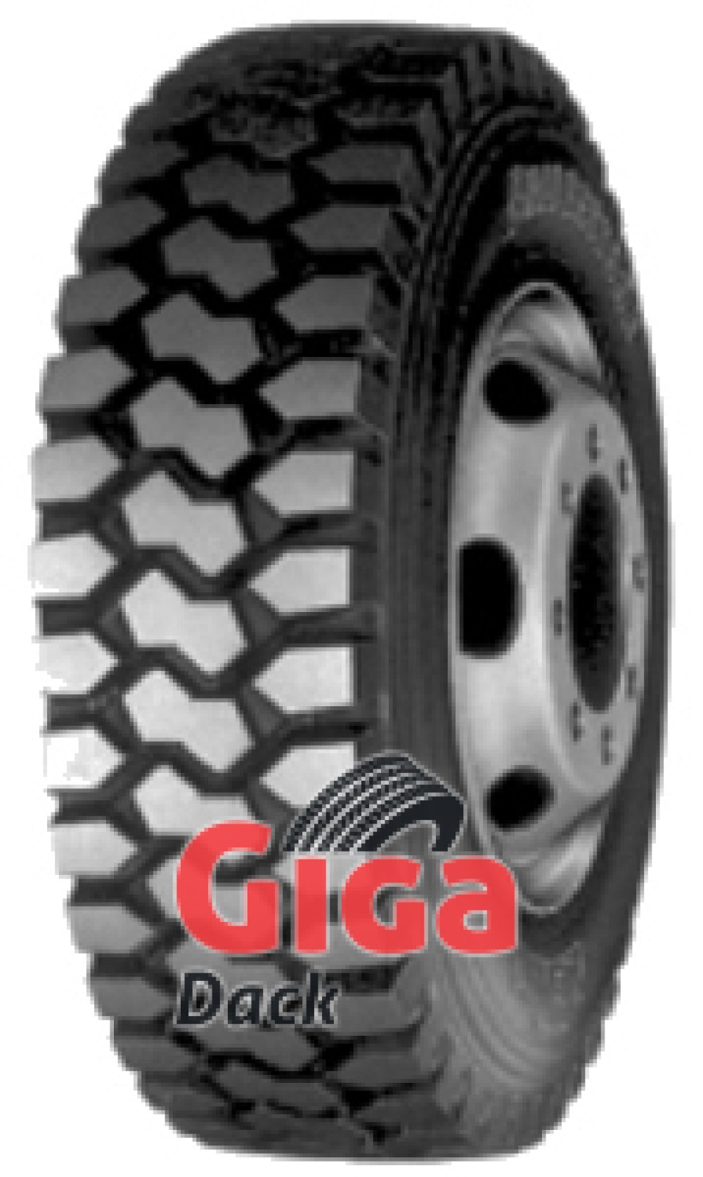Bridgestone L 317 Evo ( 13 R22.5 158/156G , Dubbel märkning 156/150K )