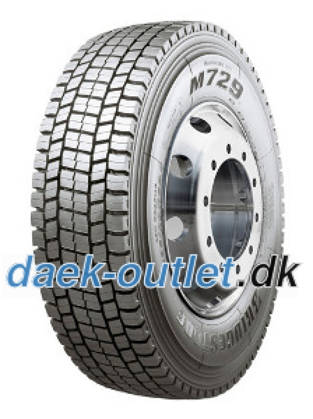 Bridgestone M 729 ( 315/80 R22.5 154M Dobbelt markering 315/80R22.5 156L )