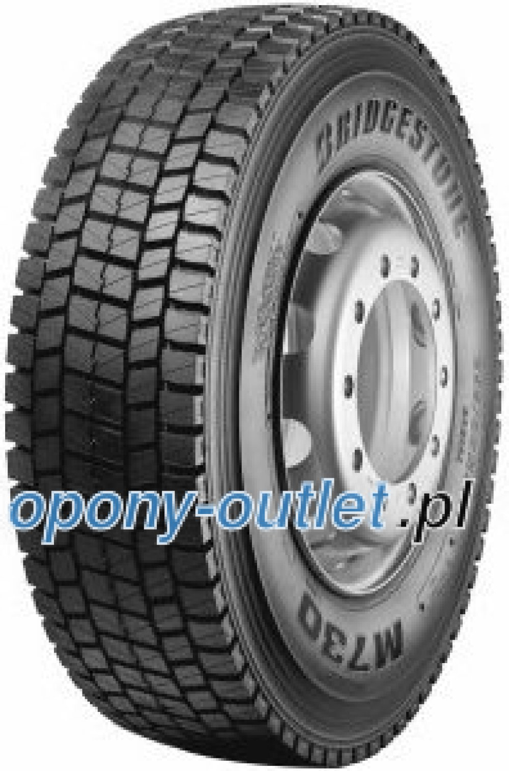 Bridgestone M 730 ( 315/70 R22.5 152/148M podwójnie oznaczone 152/154L )
