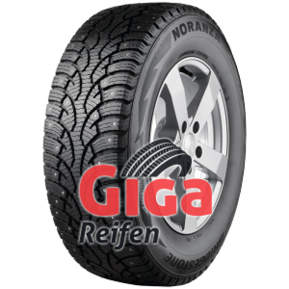 Bridgestone Noranza VAN 001 ( 205/75 R16C 113/111R , bespiked )