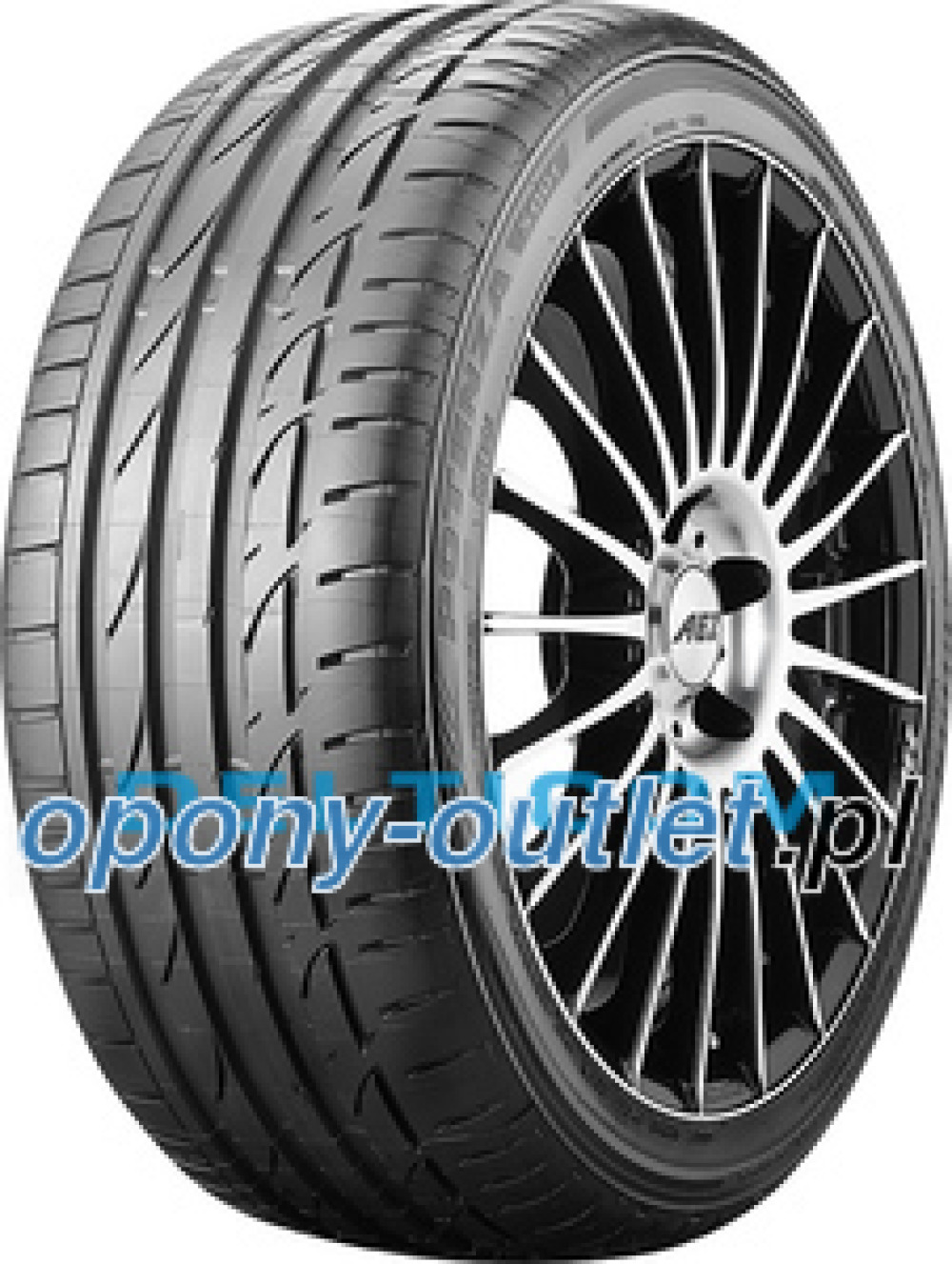 Bridgestone Potenza S001 EXT ( 245/50 R18 100W MOE, runflat, osłona felgi (MFS) )