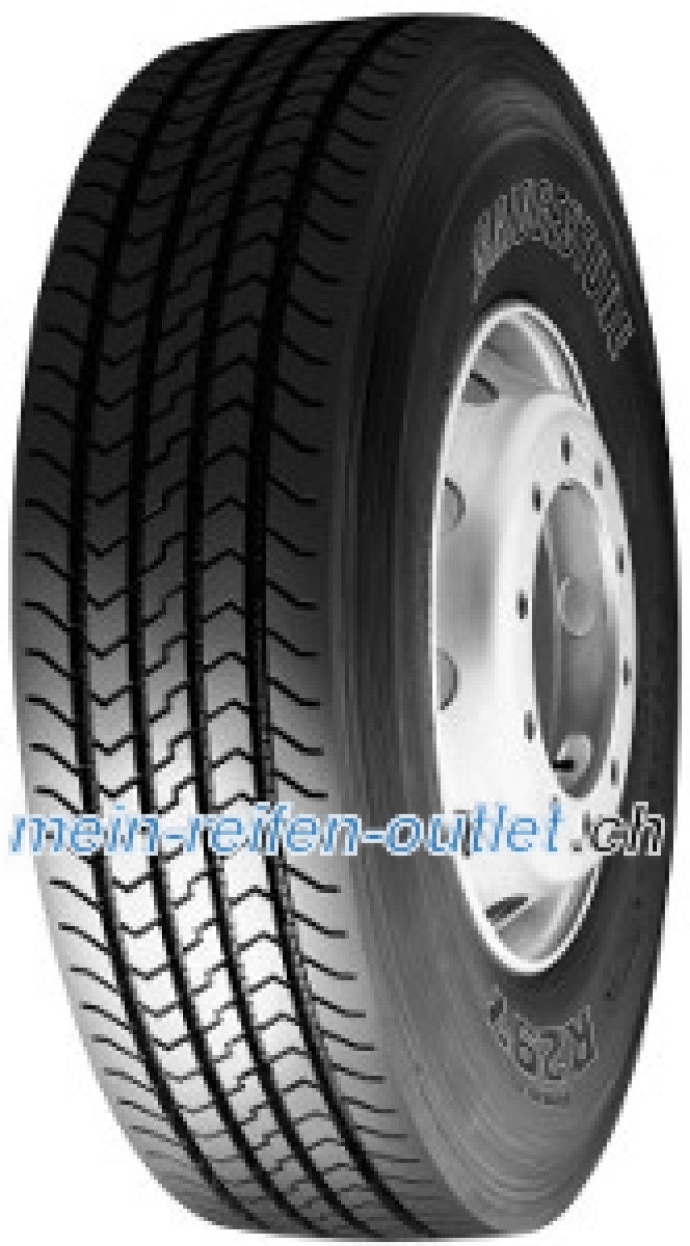 Bridgestone R 297 ( 315/80 R22.5 154/150M , Doppelkennung 156/150L )