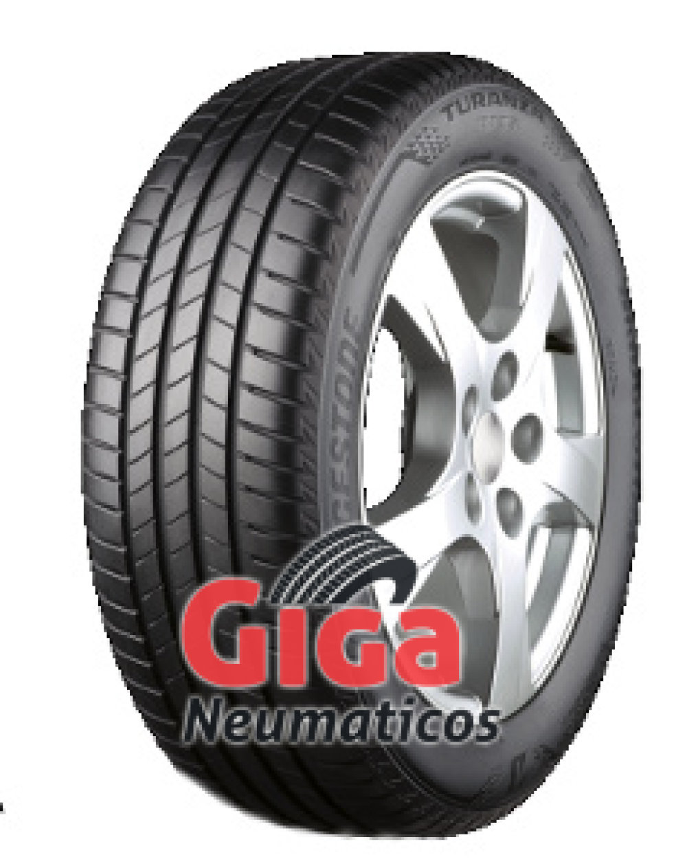 Bridgestone Turanza T005 ( 205/45 R17 88W XL con protector de llanta (MFS) )