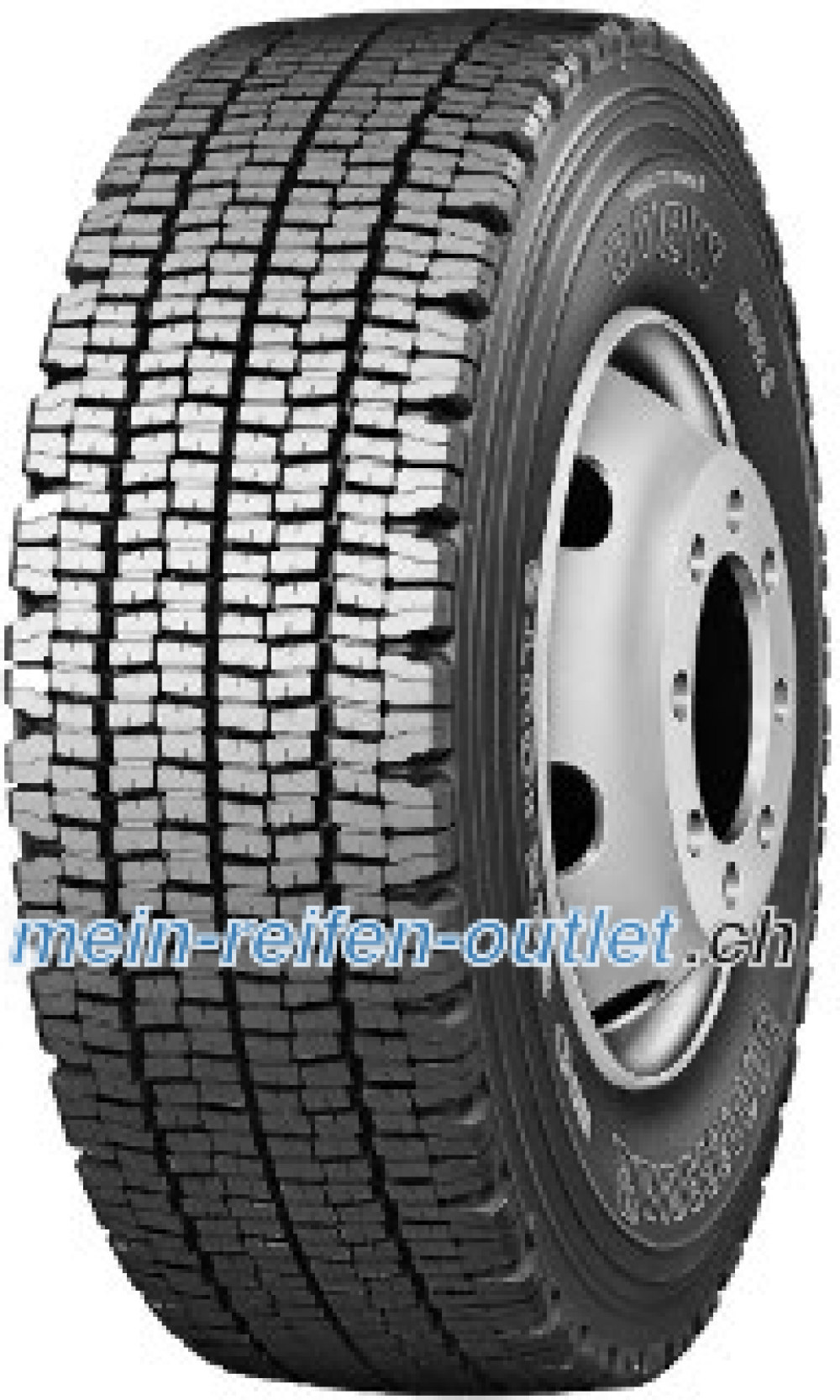 Bridgestone W 970 ( 315/80 R22.5 154M , Doppelmarkierung 315/80R22.5 156L )