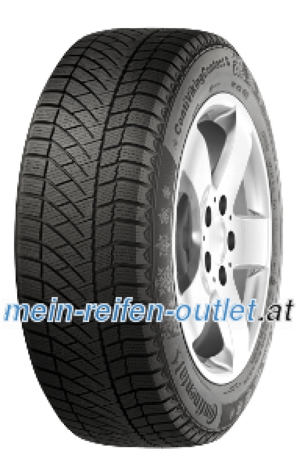 Continental Conti Viking Contact 6 ( 245/45 R20 103T XL , Nordic compound, mit Felgenrippe )