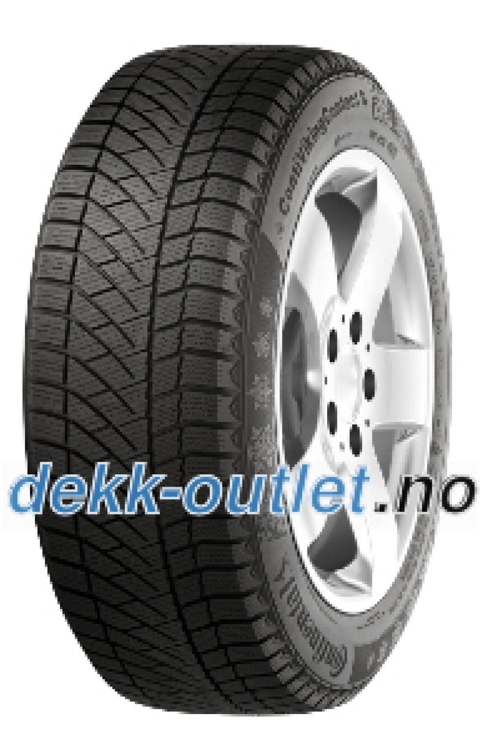 Continental Conti Viking Contact 6 ( 185/65 R14 90T XL Nordiske vinterdekk )