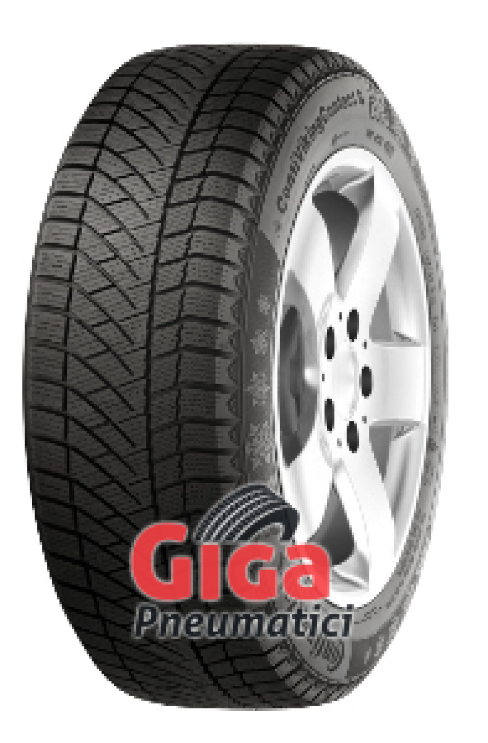 Continental Conti Viking Contact 6 ( 215/60 R16 99T XL Nordic compound, Conti Seal )