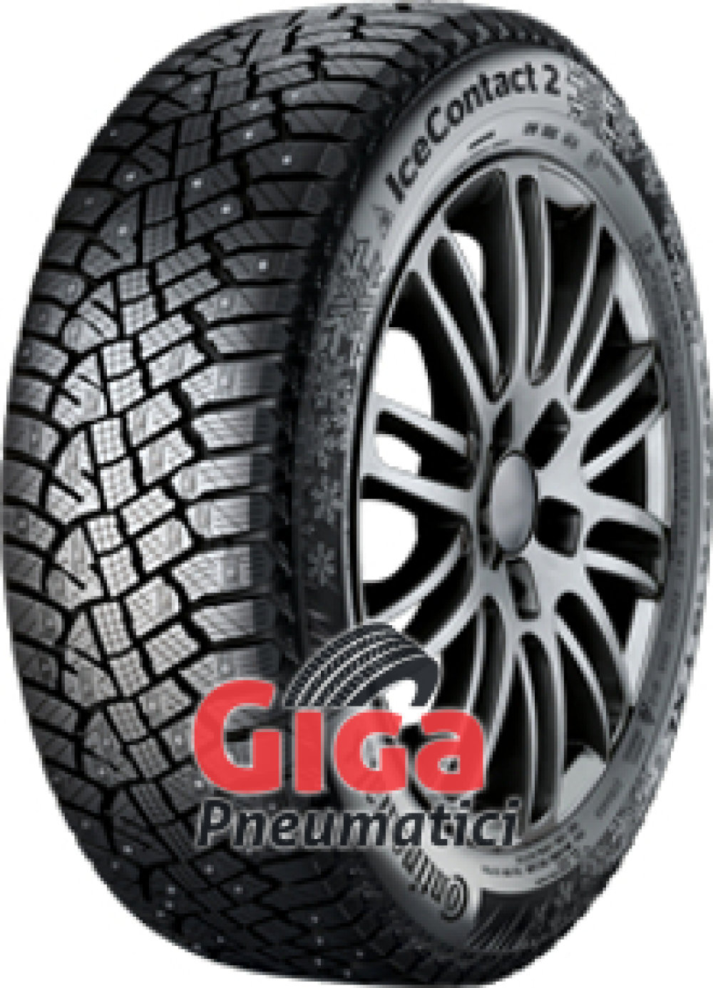 Continental Conti Ice Contact 2 ( 185/70 R14 92T XL , pneumatico chiodato )