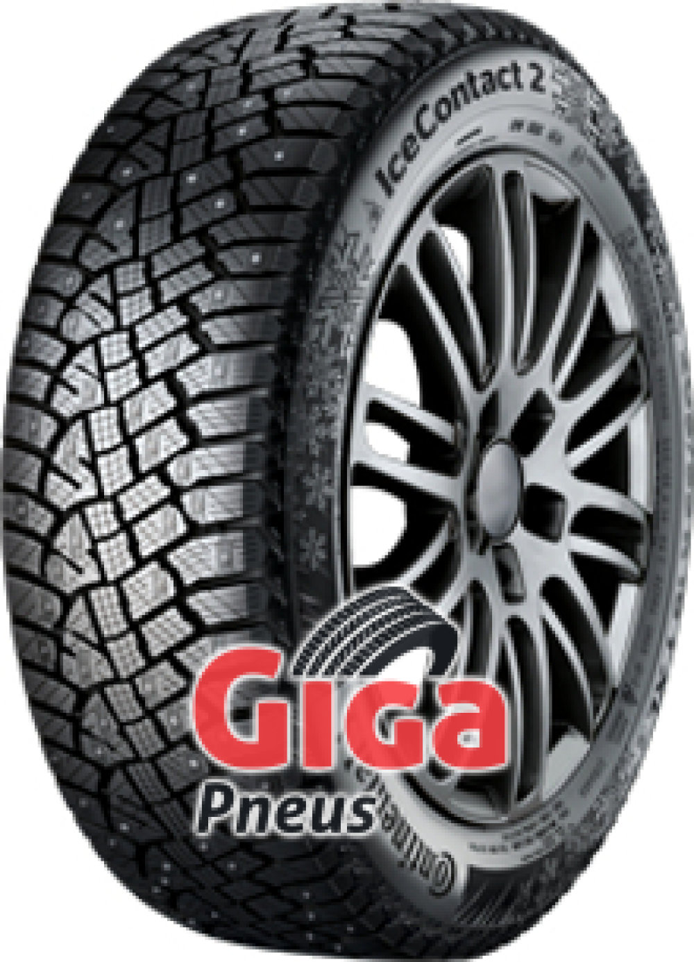 Continental Conti Ice Contact 2 ( 175/70 R14 88T XL Clouté )