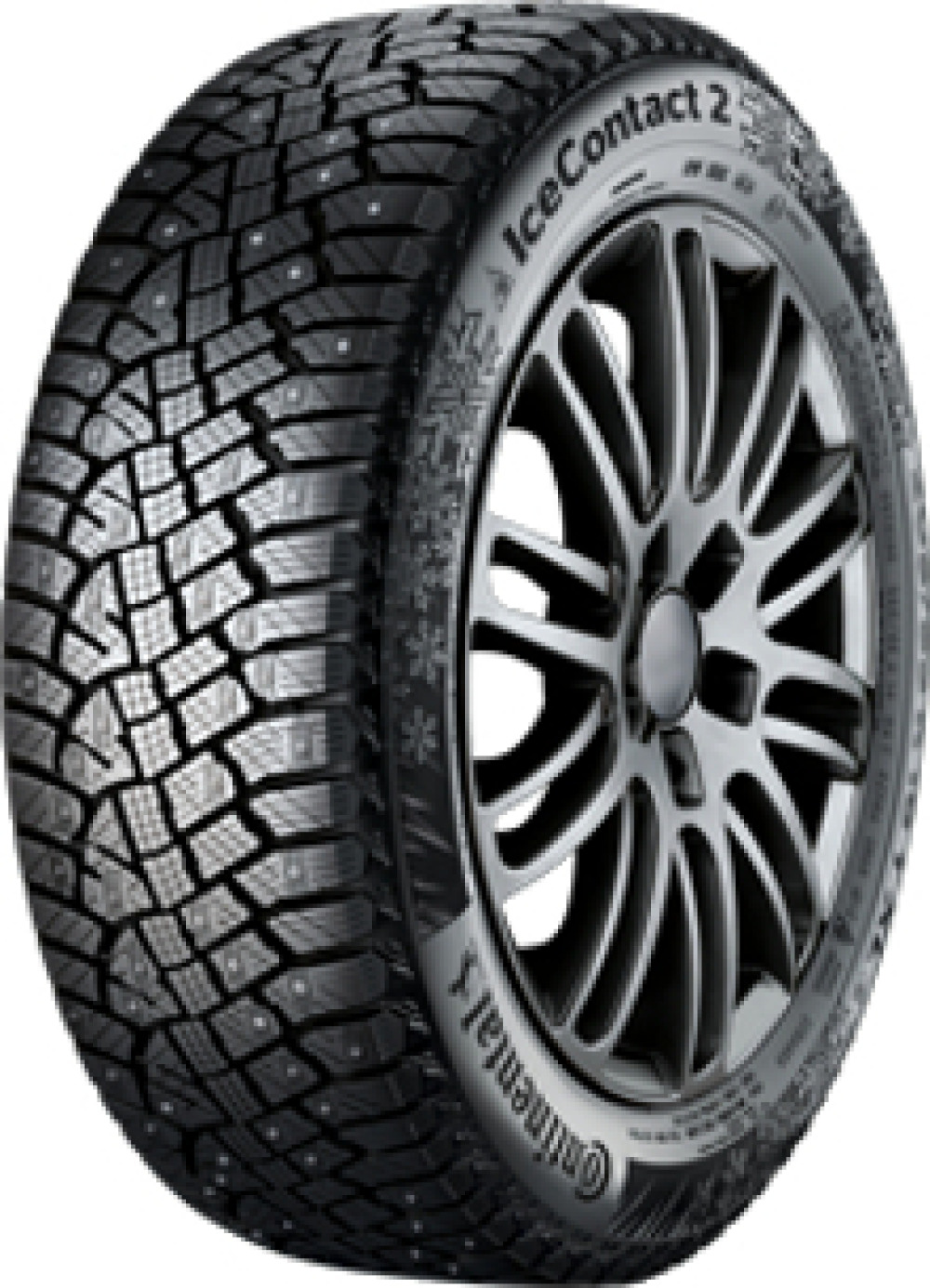 Continental IceContact 2 ( 195/60 R15 92T XL Clouté )