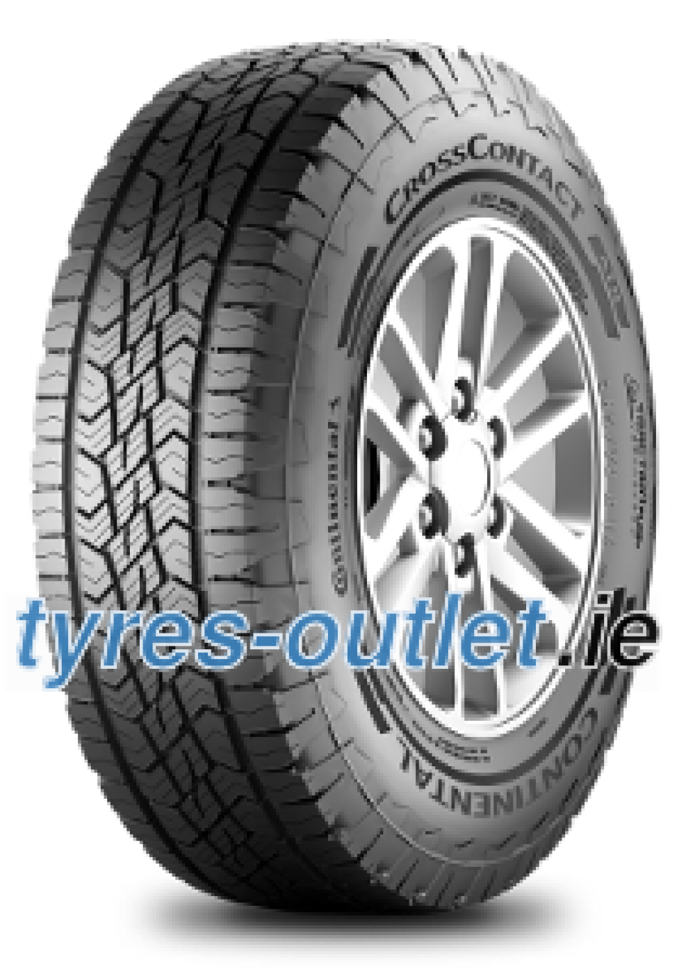 Continental CrossContact ATR ( 215/80 R15 102T with kerbing rib )