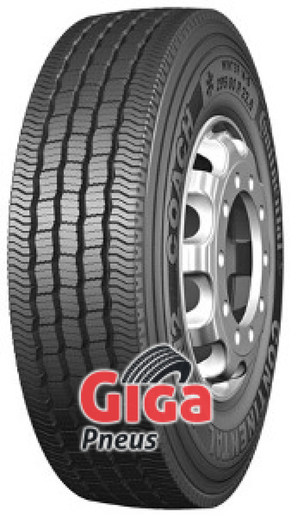 Continental HSW 2 Coach ( 315/80 R22.5 156/150L Double marquage 154/150M )