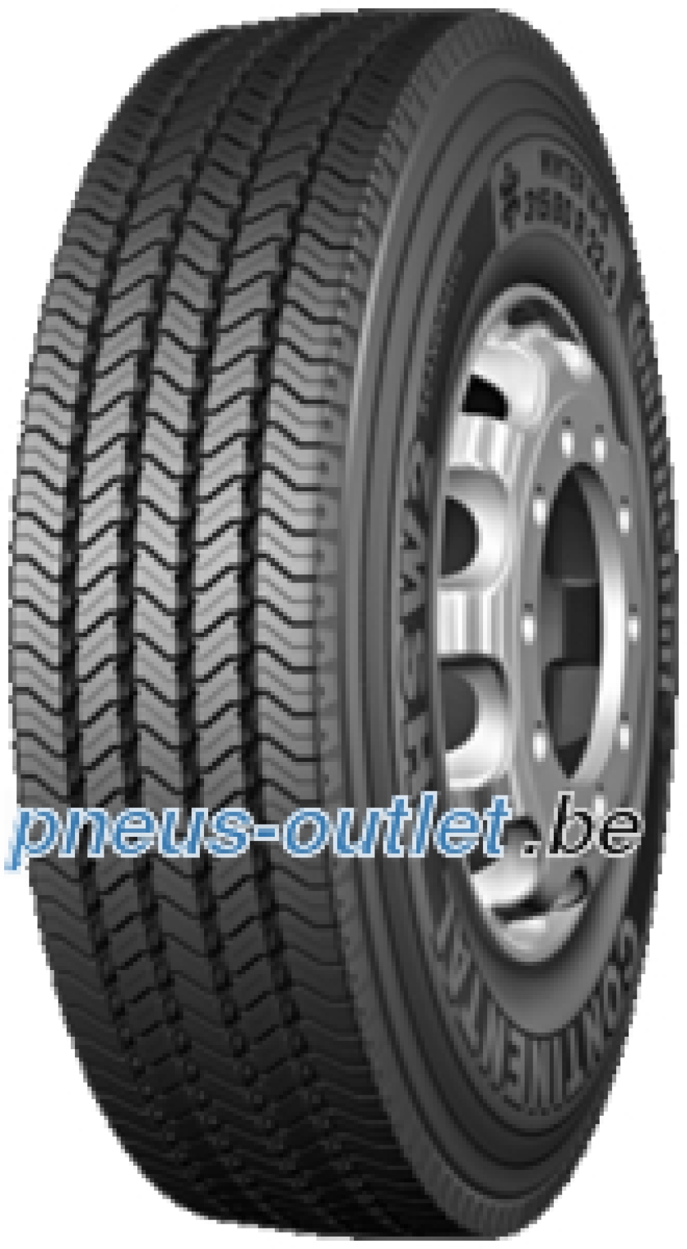 Continental HSW 2 Scandinavia ( 315/80 R22.5 156/150L Double marquage 154/150M )