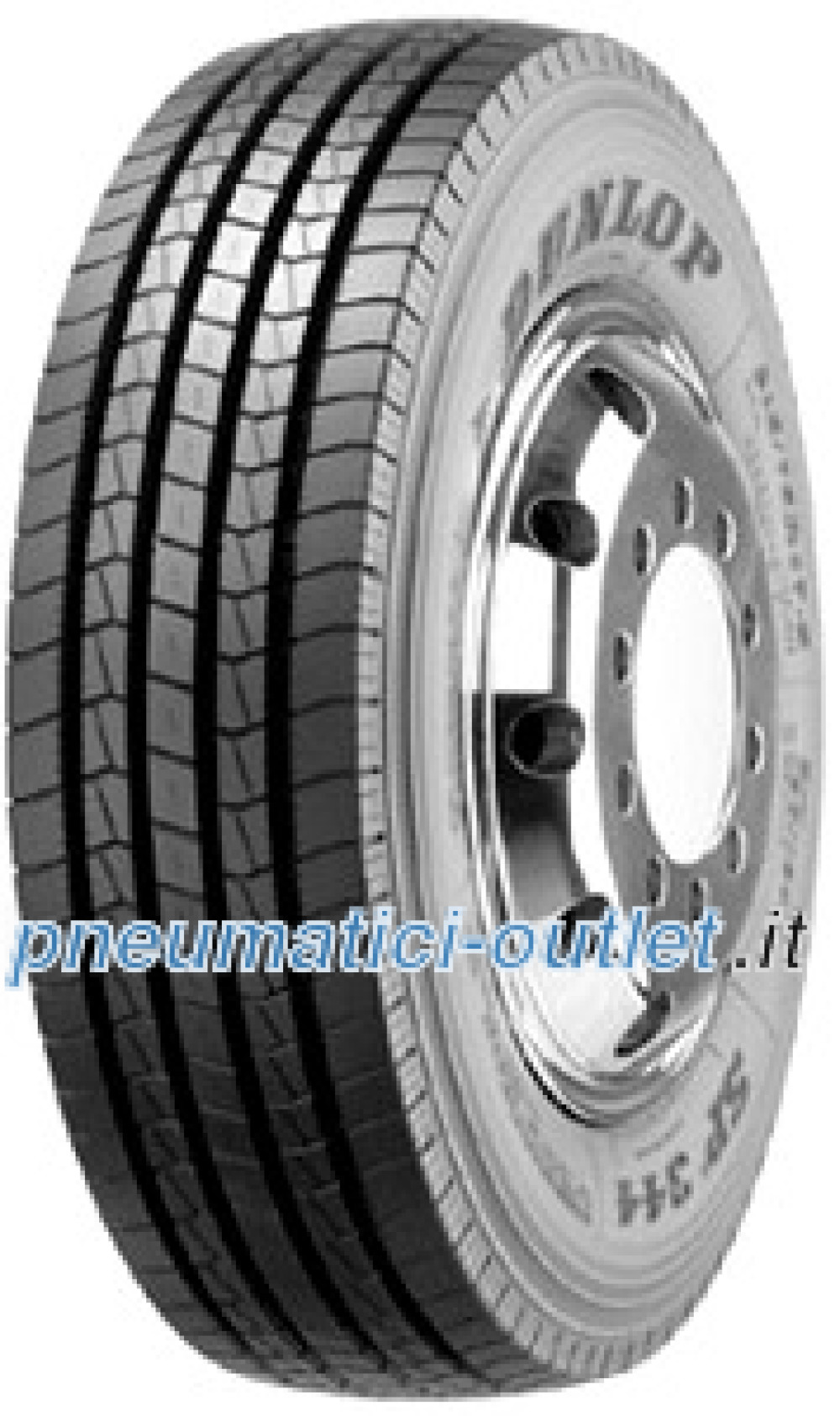 Dunlop SP 344 ( 265/70 R19.5 140/138M 16PR )