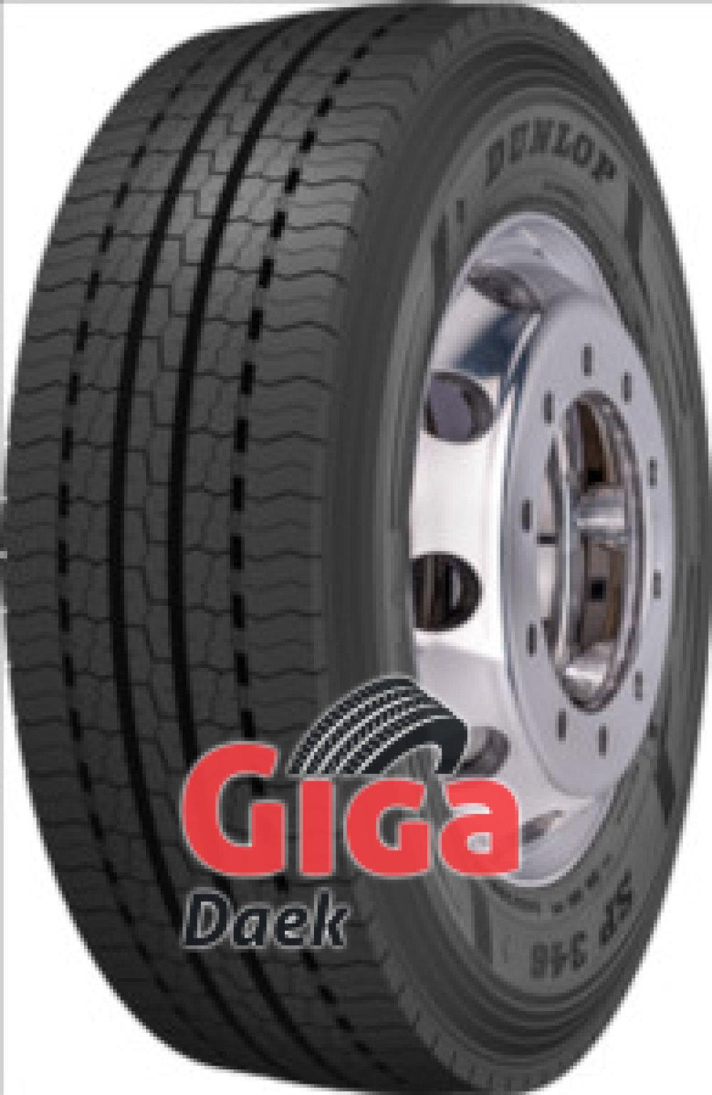 Dunlop SP 346 ( 385/65 R22.5 160K Dobbelt mærkning 158L )