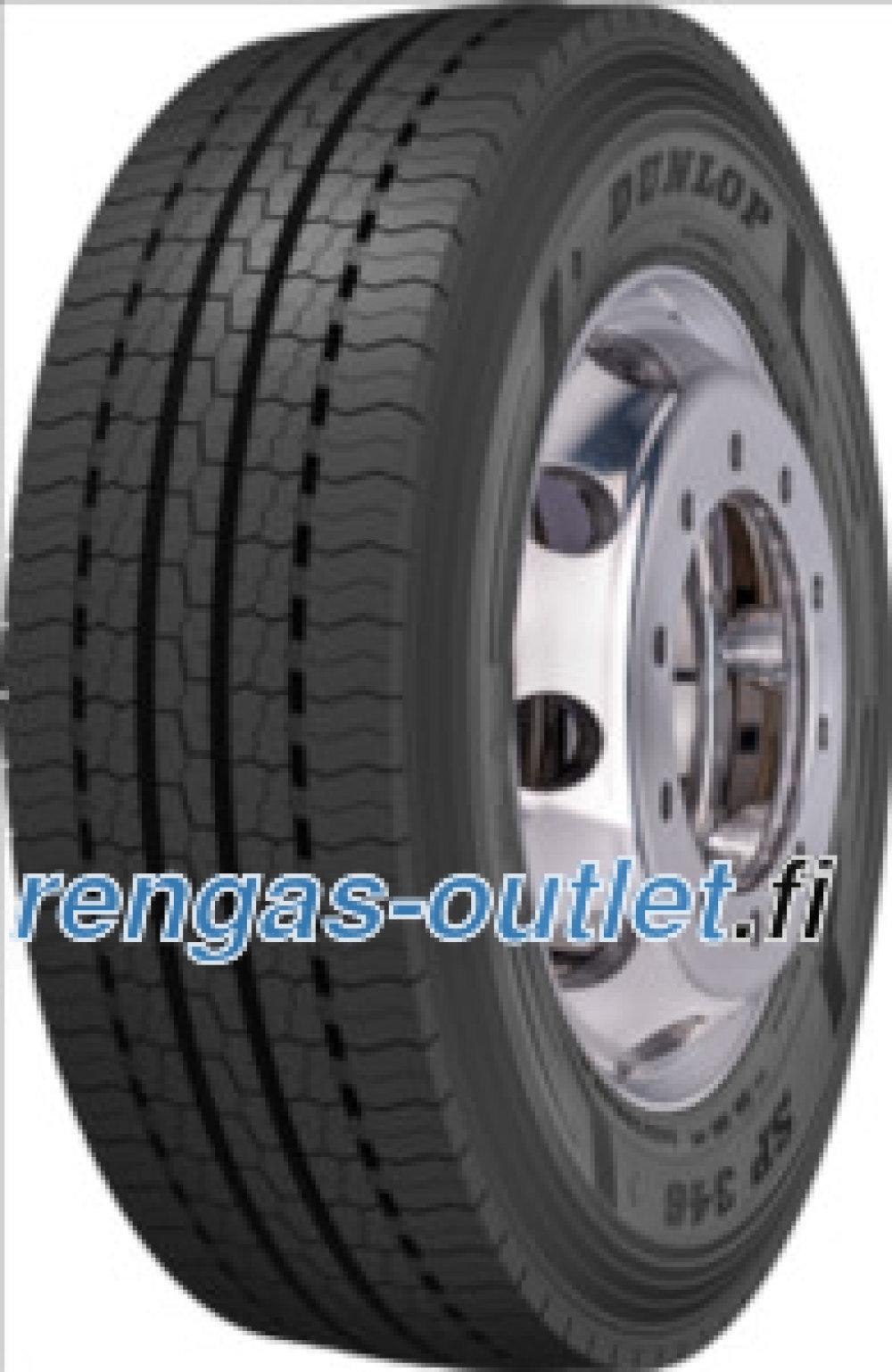 Dunlop SP 346 ( 295/60 R22.5 150K kaksoistunnus  149L )