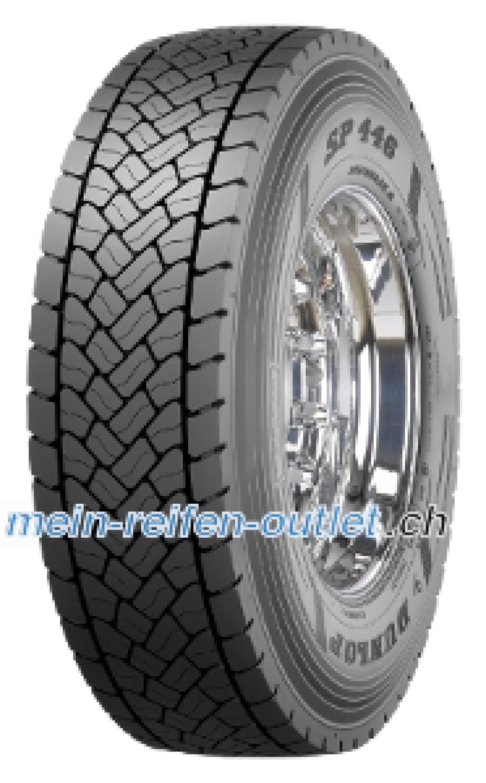 Dunlop SP 446 ( 295/60 R22.5 150K Doppelkennung 149L )
