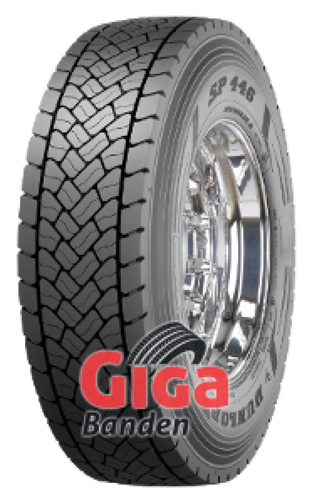 Dunlop SP 446 ( 315/80 R22.5 156L Dubbel merk 154M )