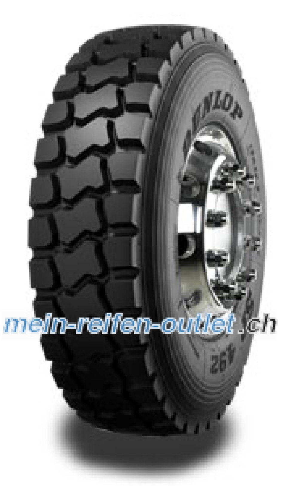 Dunlop SP 492 ( 13 R22.5 156/150G 18PR , Doppelkennung 154/150J )