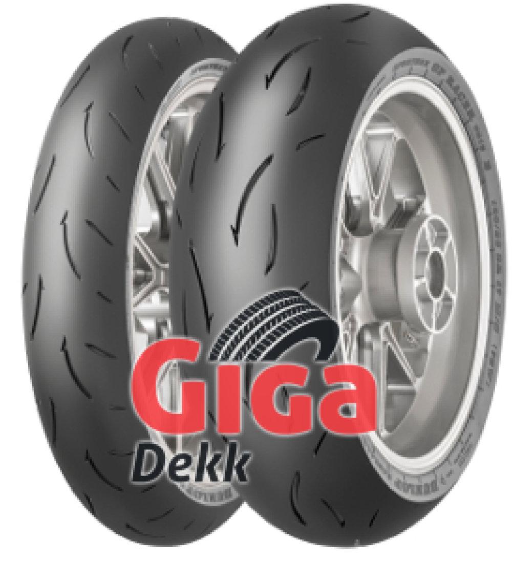 Dunlop Sportmax GP Racer D212 ( 120/70 ZR17 TL (58W) Mischung medium, forhjul )