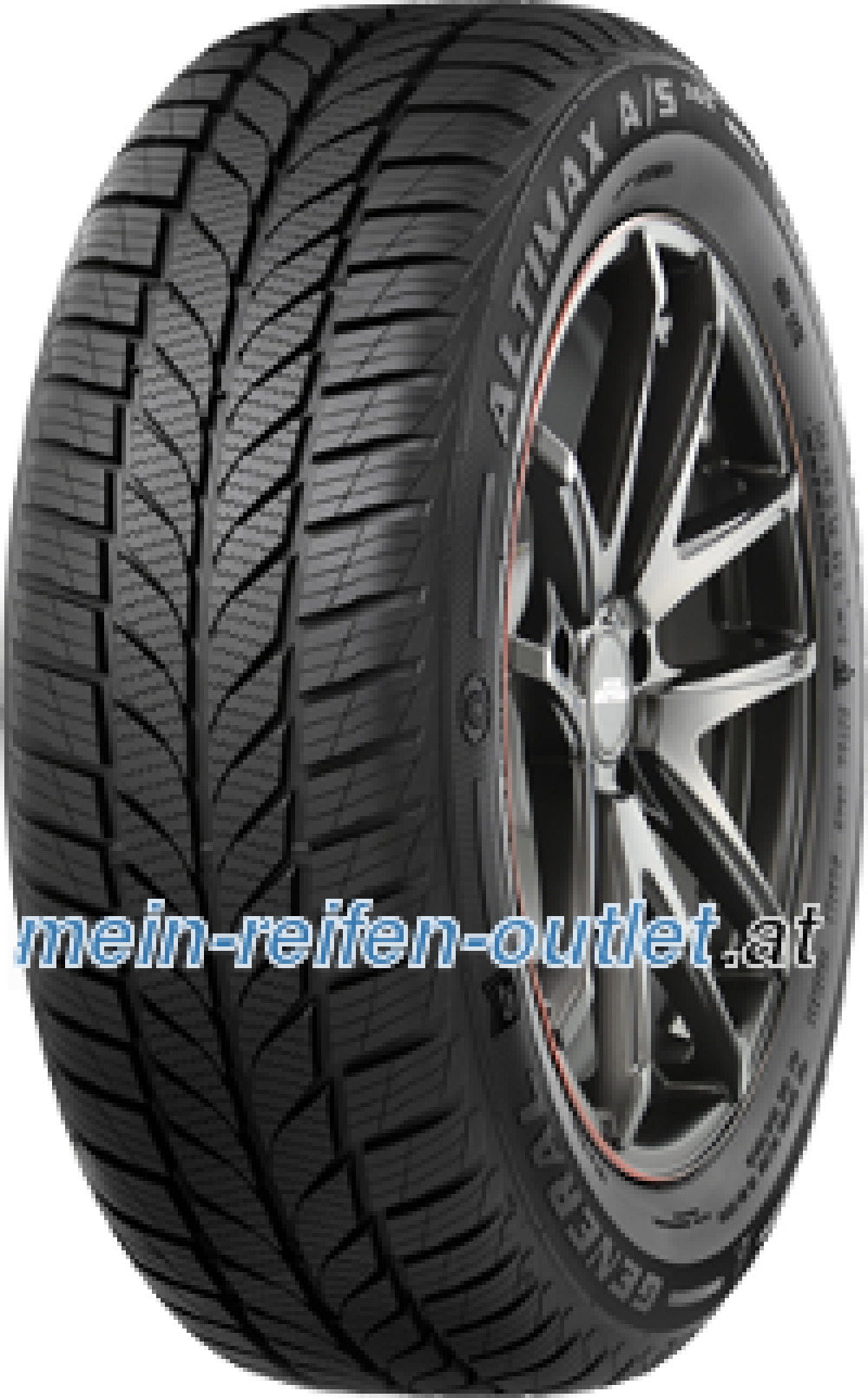 General Altimax A/S 365 ( 225/45 R17 94V XL , mit Felgenrippe )