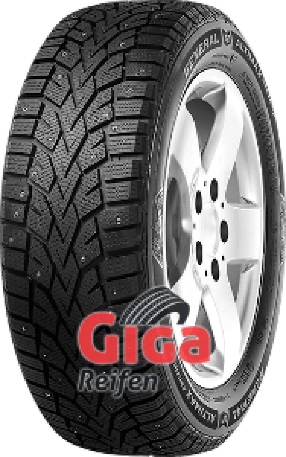 General Altimax Arctic 12 ( 205/55 R16 94T , bespiked )