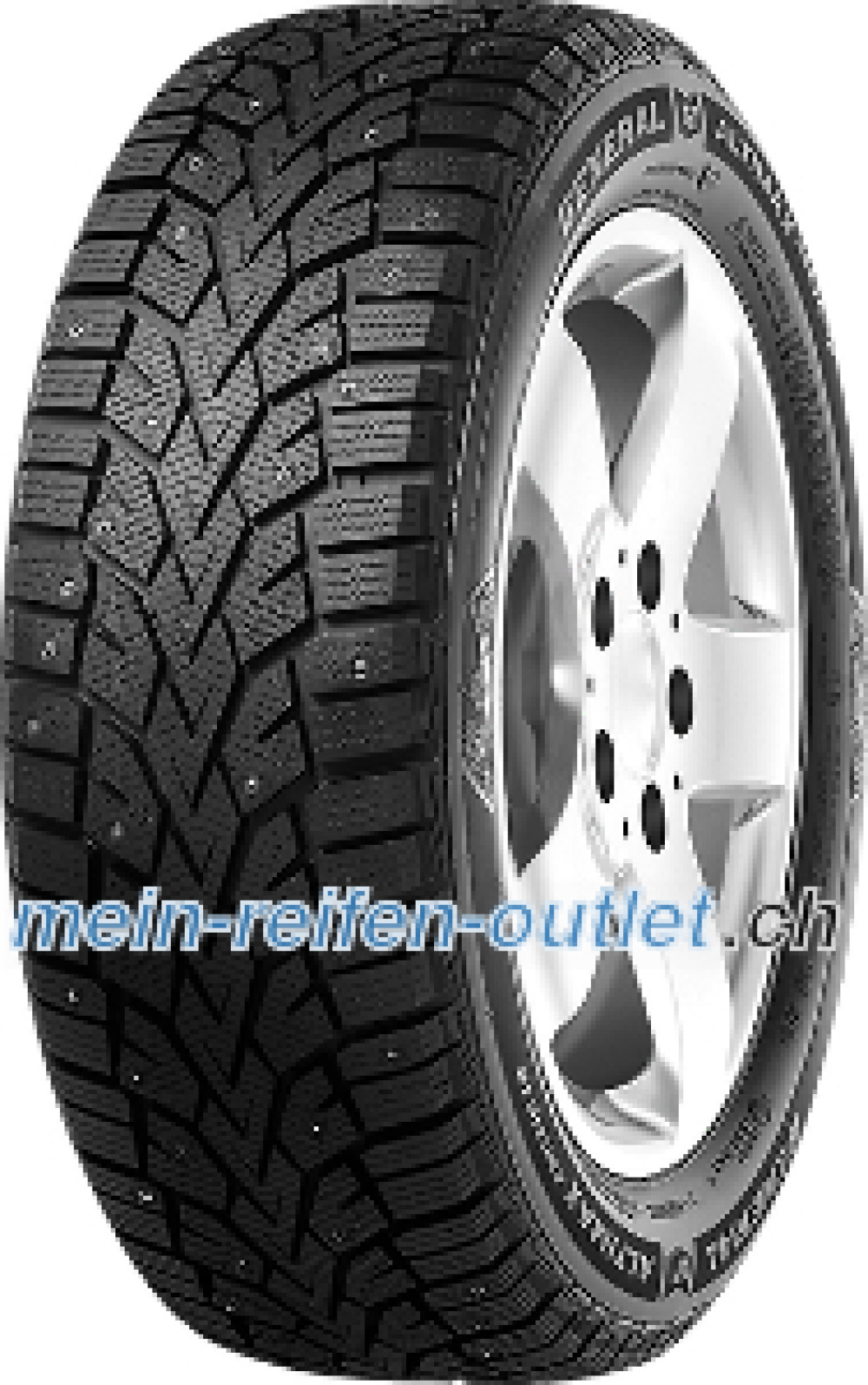 General Altimax Arctic 12 ( 205/60 R16 96T , bespiked )