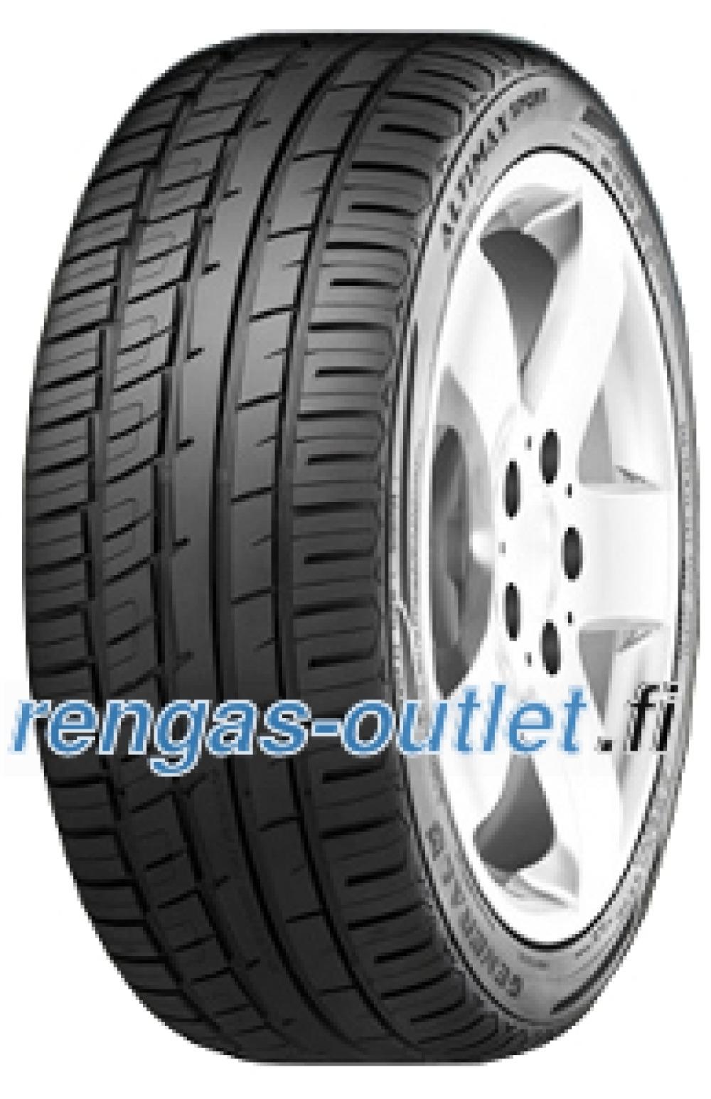 General Altimax Sport ( 225/40 R19 93Y XL vannealueen ripalla  )