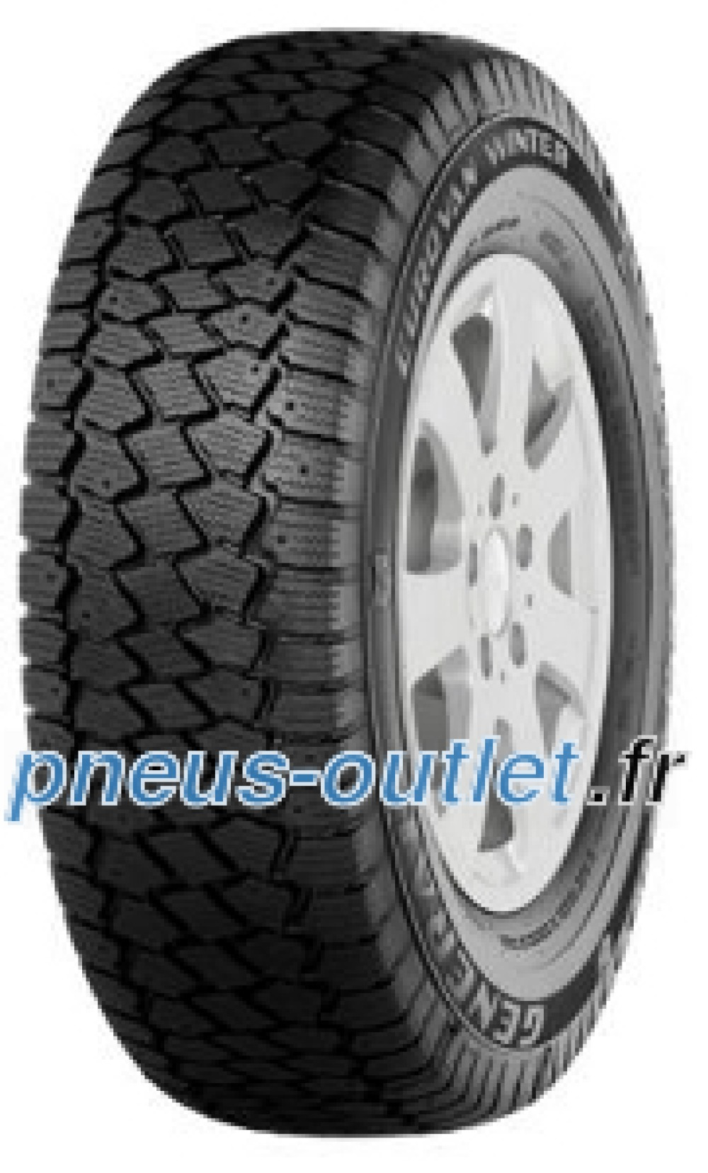 General Euro Van Winter ( 195/65 R16C 104/102T 8PR , Cloutable )
