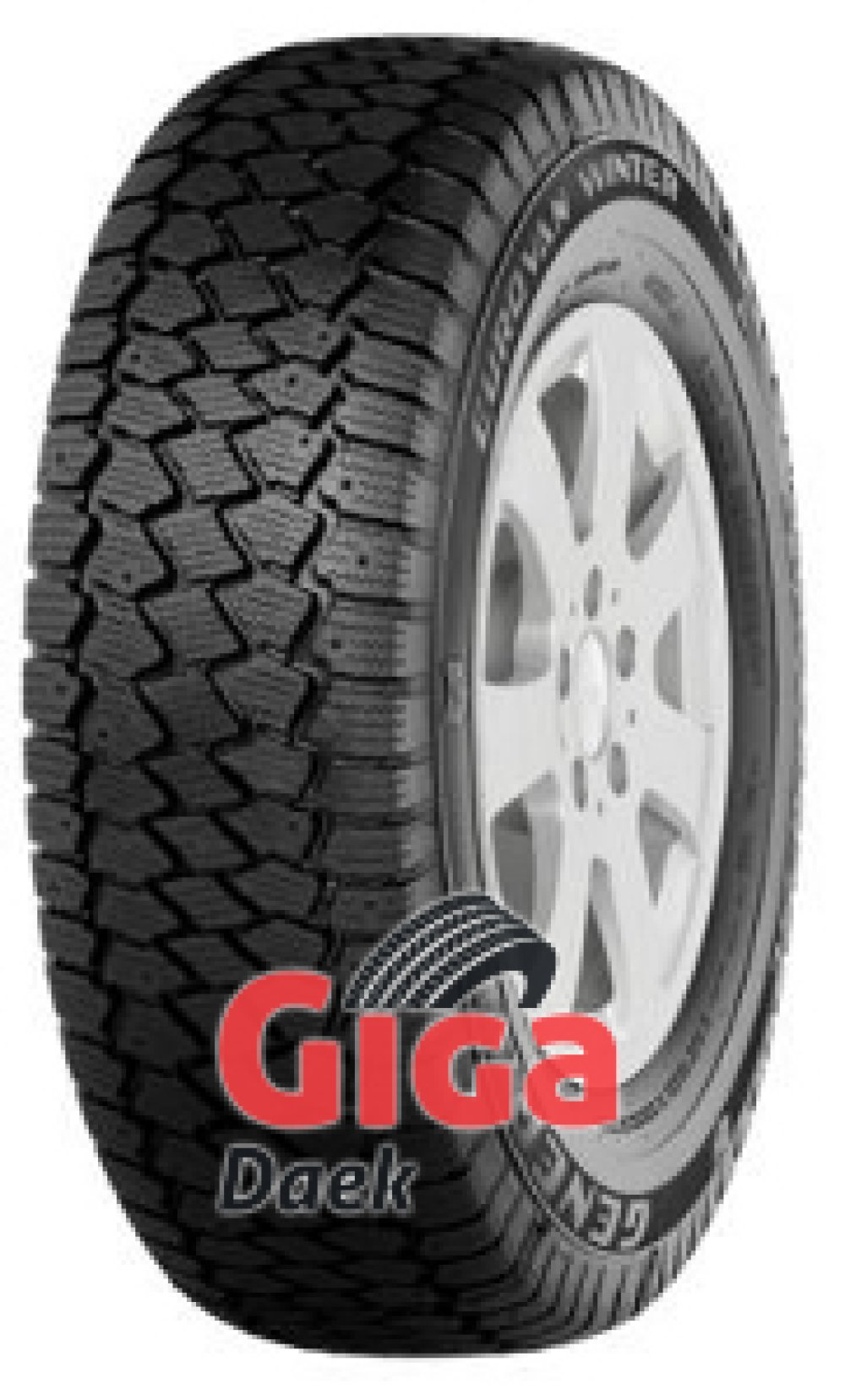 General Euro Van Winter ( 195/65 R16C 104/102T 8PR , kan forsynes med spikes )