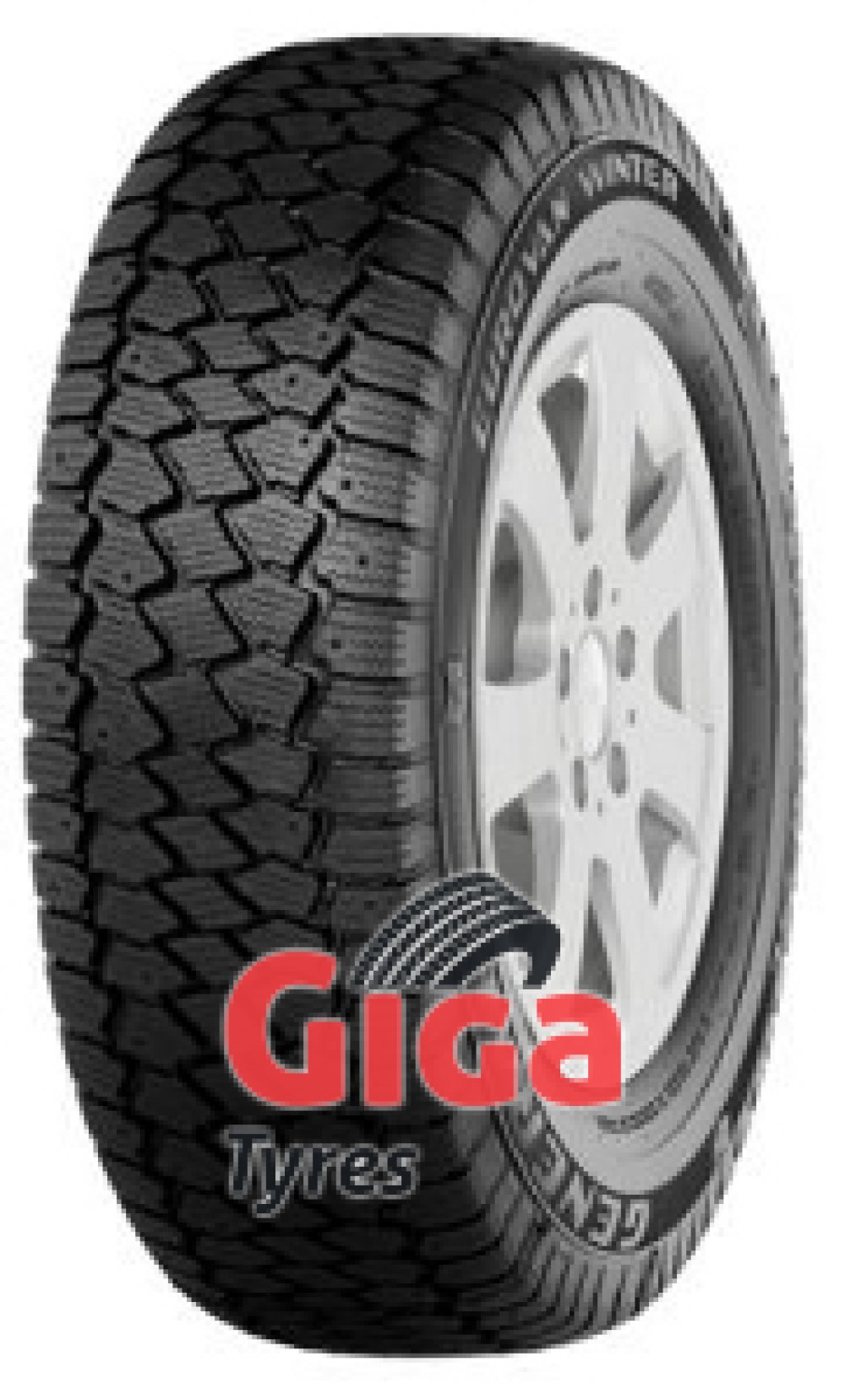 General Euro Van Winter ( 195/65 R16C 104/102T 8PR , studdable )