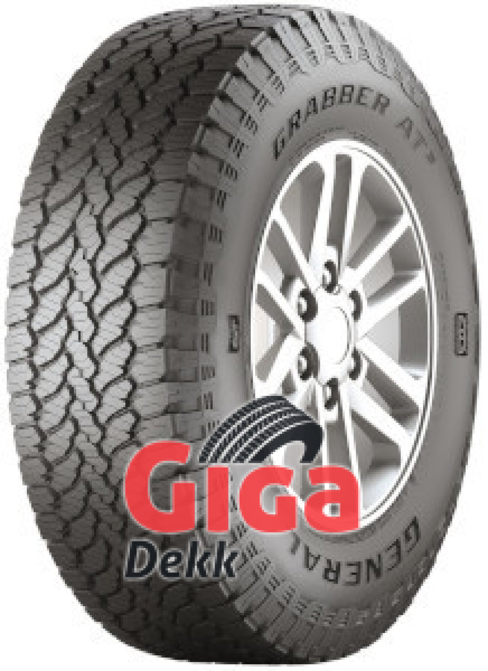 General GRABBER AT3 ( 225/75 R16 108H XL , med felgkant )