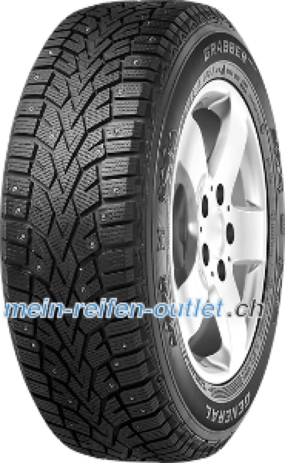 General Grabber Arctic ( 235/65 R17 108T , bespiked, mit Felgenrippe )