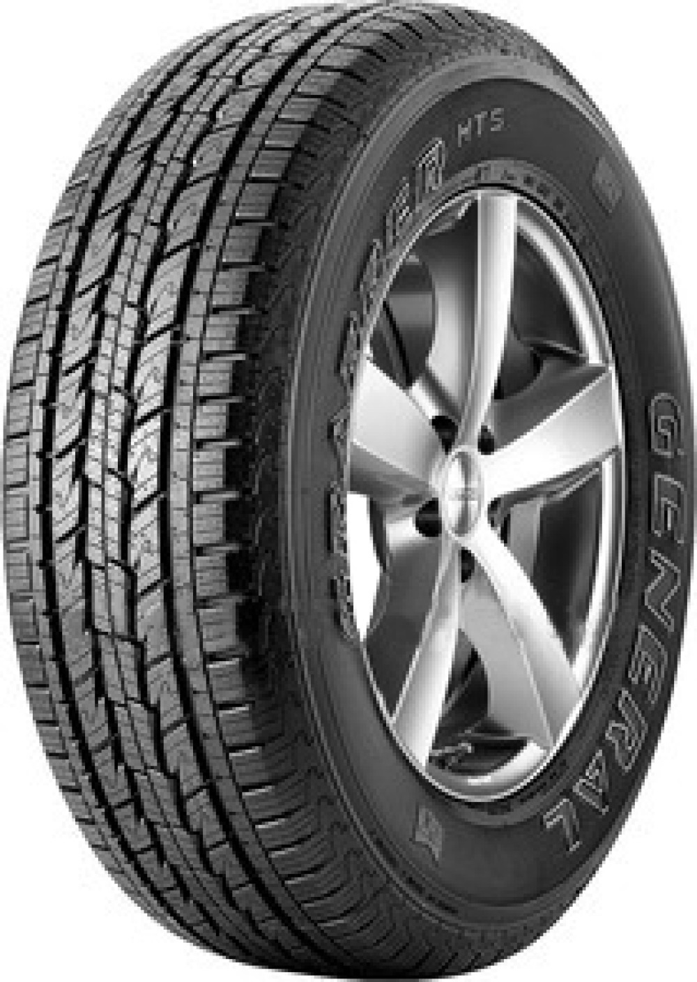 Image of 1x General Tire Grabber HTS60 265/60R18 110H BSW FR