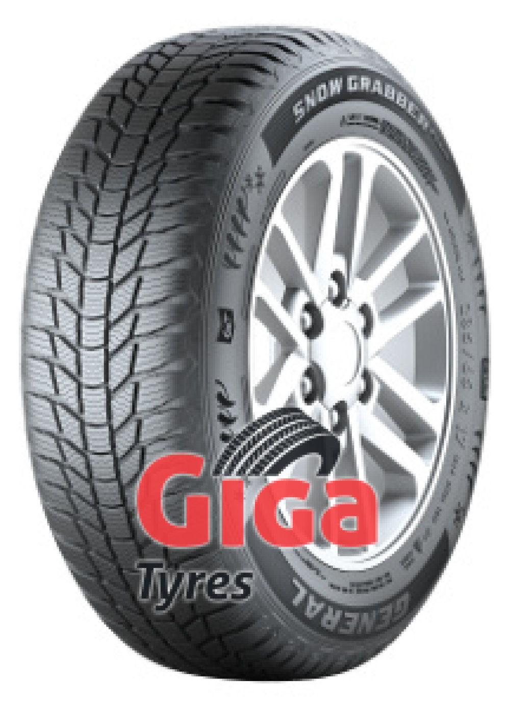 General Snow Grabber Plus ( 235/60 R18 107H XL , with kerbing rib )