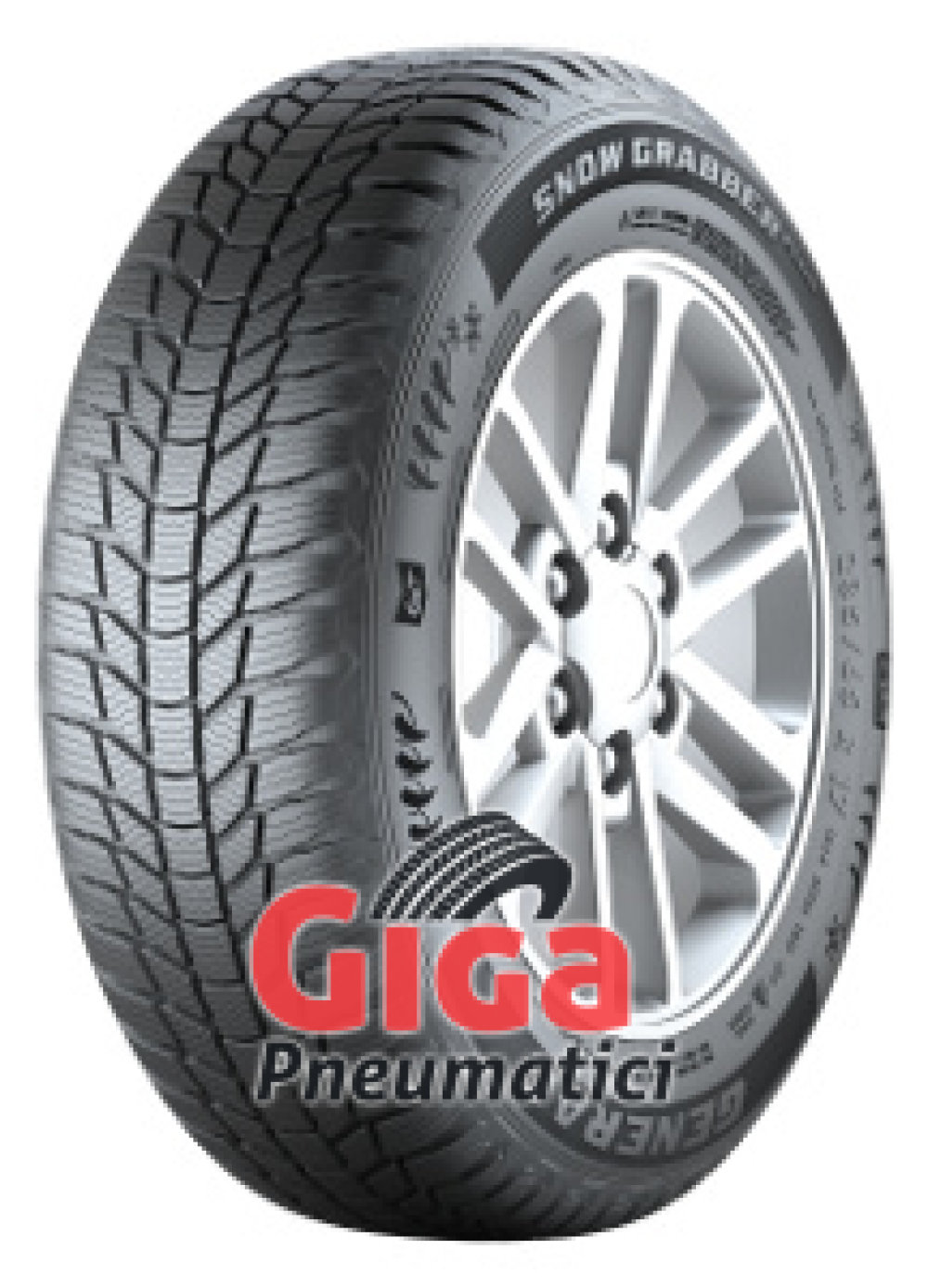 General Snow Grabber Plus ( 225/75 R16 104T , con bordo di protezione )