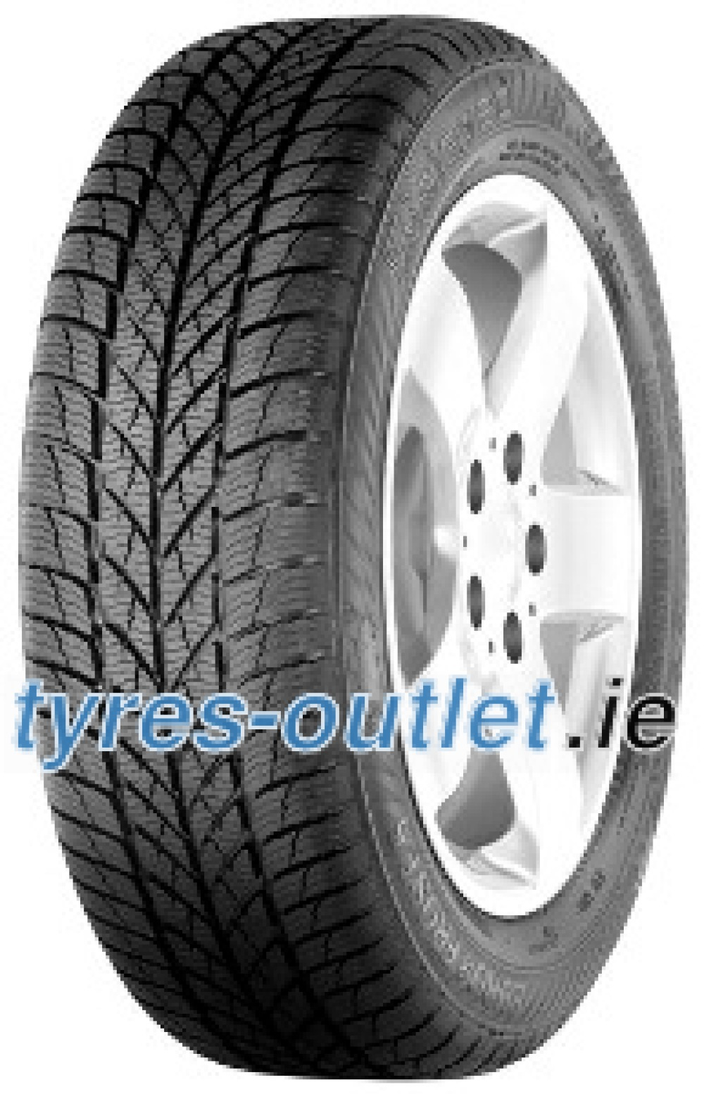 Gislaved Euro*Frost 5 ( 235/65 R17 108H XL , SUV, with kerbing rib )