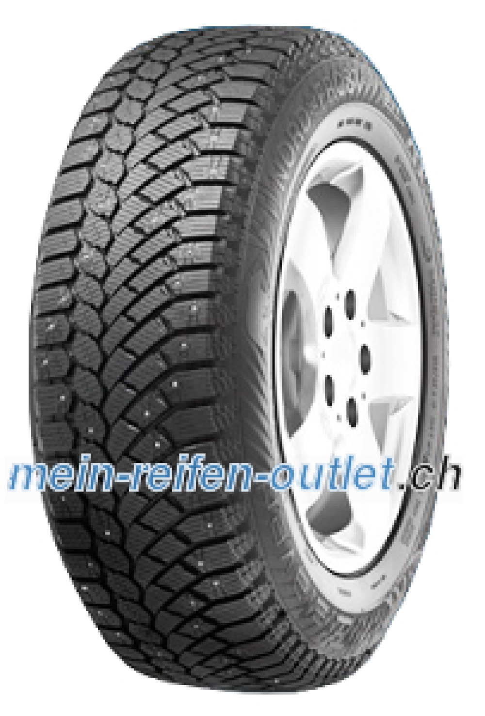 Gislaved Nord*Frost 200 ( 225/65 R17 106T XL bespiked, SUV, mit Felgenrippe )