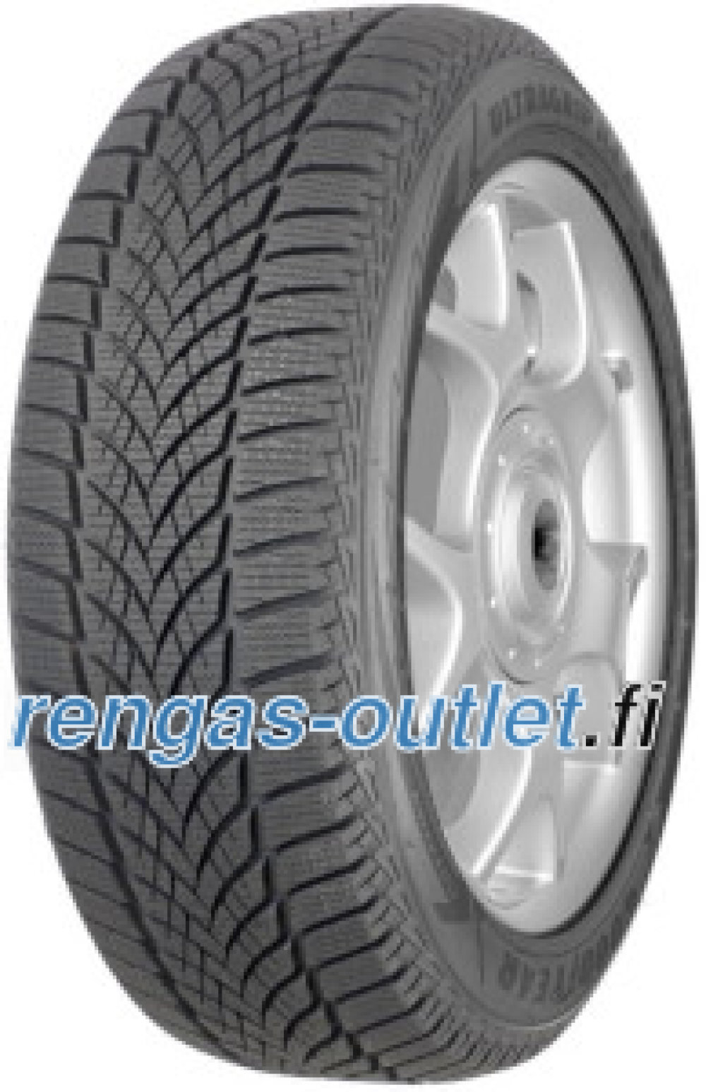 Goodyear UltraGrip Ice 2 ( 225/60 R16 102T XL , Pohjoismainen kitkarengas )