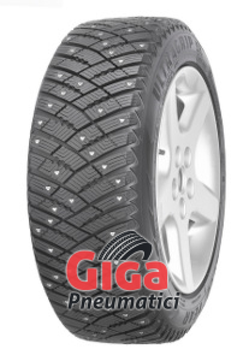 Goodyear Ultra Grip Ice Arctic ( 225/55 R17 101T XL , pneumatico chiodato )